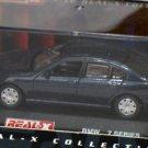 BMW 7 series deep blue 1/72 die cast model car