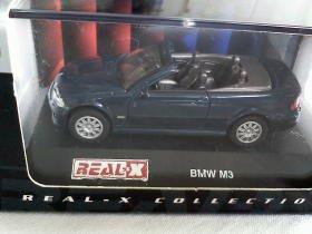 BMW M3 blue 1/72 die cast model car