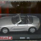 BMW Z4 silver 1/72 die cast model car