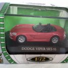 Dodge Viper SRT-10 red 1/72 die cast model car