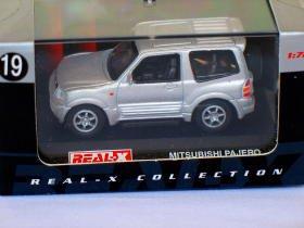 Mitsubishi Pajero short silver 1/72 die cast model car