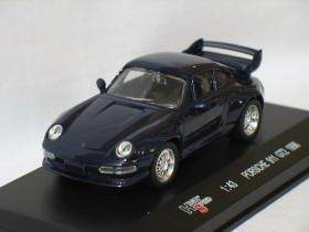 Porsche 911 GT2 1996 deep blue 1/43 die cast model car