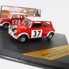Morris Cooper S #37 1st Monte Carlo 1964 1/43 die cast model car (Rare)