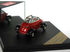 Messershmitt Figer TG500 1958 red 1/43 die cast model car (Rare)
