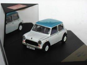 Mini Sky 1989 blue white 1/43 die cast model car
