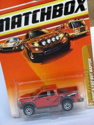Matchbox Ford F-150 SVT Raptor 1/76 die cast model car
