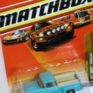 Matchbox Construction 1957 GMC Pickup Blue 1/66 Die Cast Model Car
