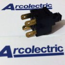 Arcolectric Push Button Switches 8(8)A 250Vac & 12(12)A 250Vac (Lot of 5 pcs)