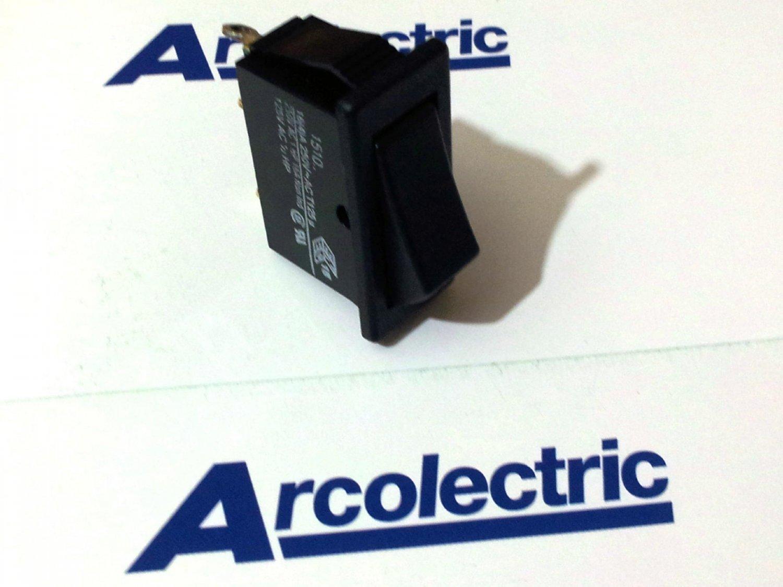 Arcolectric Rocker Switch 16(4)A 250Vac T125 (Lot of 5 pcs)