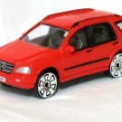 Mercedes Benz MB M Class red 1/60 die cast model car