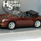 Porsche 911 Carrera Cabrio 1995 Open Convertible 1/43 Die Cast Model Car
