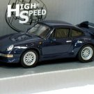 Porsche 911 GT2 1996  blue 1/43 die cast model car