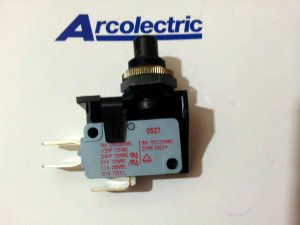 Arcolectric V3 Snap-action Switch On-Off 16(4)A 250 Vac (Lot of 2 pcs)