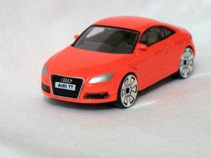 Audi TT Red 1/57 Die Cast Model Car
