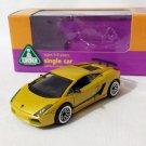 Lamborghini Gallardo LP570-4 Superleggera Yellow/Black 1/64 Die Cast Model Car