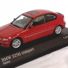 BMW 325ti Compact red 1/43 die cast model car