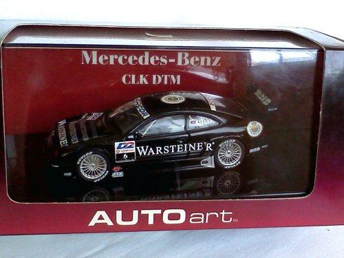 Mercedes Benz CLK DTM Warsteiner #6 black 1/43 die cast model car