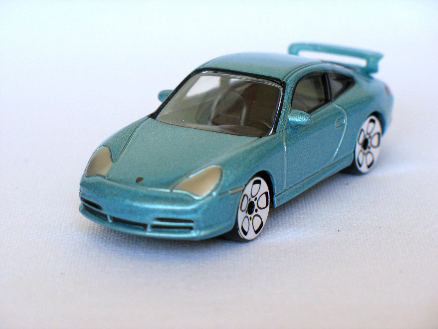 Porsche 911 GT3 blue 1/58 die cast model car
