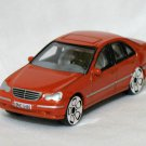 Mercedes Benz MB C-Class orange 1/57 die cast model car