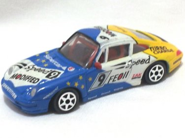 Porsche 911 #9  7.5cm Die Cast Model Car (Rare)