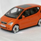 Mercedes Benz MB A-Class orange 1/56 die cast model car