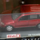 Volkswagen Touareg Red #127 1/72 Die Cast Model Car