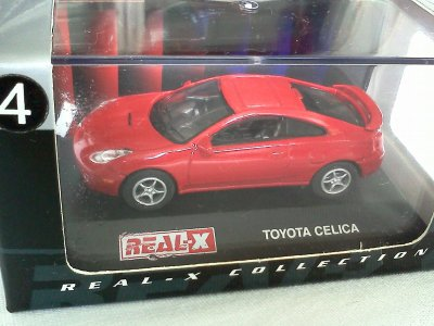Toyota Celica Red #4 1/72 Die Cast Model Car