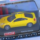Toyota Celica Yellow 1/72 Die Cast Model Car