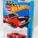 Hotwheels '70 Toyota Celica #22 red Die Cast Model Car