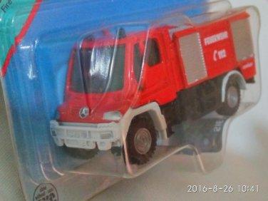 Mercedes Benz Fire Engine Pompiers 1/87 die cast model car