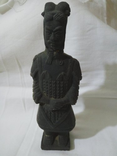 Small Porcelin Model of Terracotta Army of Qin Emperor 160mm Tall