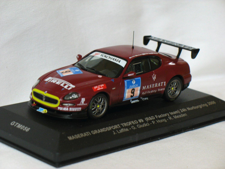 Maserati Grandsport Trofeo  #9 Red 2006 1/43 Die Cast Model Car