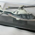 Agusta Carabinieri Sky Pilot A109 Power Helicopter Black White 1/100 Die Cast Model