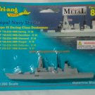 Daring Class Destroyers P 755-D37 HMS Duncan - D37  1/1200 Die Cast Model Ship