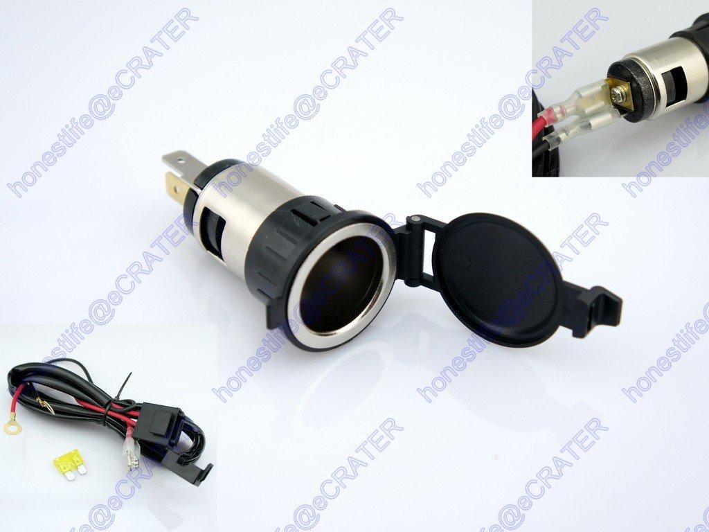 3m 12V 20A Car 24V 10A Fuse Cigarette Lighter Socket Power Outlet Replacement