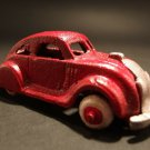 Antique Vintage Style Cast Iron Red Toy Car