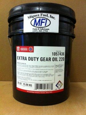 ConocoPhillips Gear Oil 220 (5 gallon pail) AGMA 5EP, ISO VG
