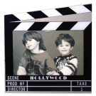 "Hollywood Acrylic Clapboard Picture Frame 5x7"" - 5421"