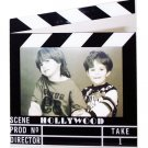 "Hollywood Acrylic Clapboard Picture Frame - 4x6"" - 5422"
