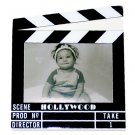 "Hollywood Acrylic Clapboard Picture Frame - 3.5x5"" - 5424"