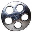 Metal Movie Reels Silver ( For 35 mm Film) - 2563