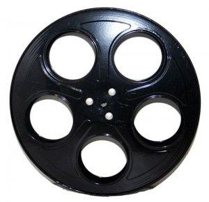 Metal Movie Reels Black ( For 35 mm Film) - 2565
