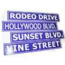 Hollywood Street Signs Package - 3074
