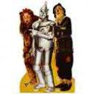 Lion, Tinman, & Scarecrow Cutout #566 - 4136