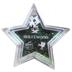 Black Walk of Fame Star Paper Weight - 6311