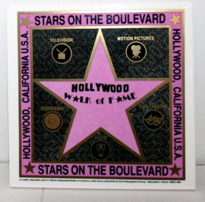 Walk of Fame Star Trivet - 3351