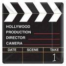 Director Cut Clapboard Paper Plates - 6044