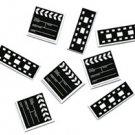 Movie Clapboard & Film Strip Confetti - 6071