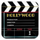 Hollywood Square Plastic platter - 8363