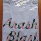 ARASHI BLAST IN MIYAGI 2015 CONCERT GOOD T-SHIRT TEE White NEW JOHNNY'S SHO OHNO